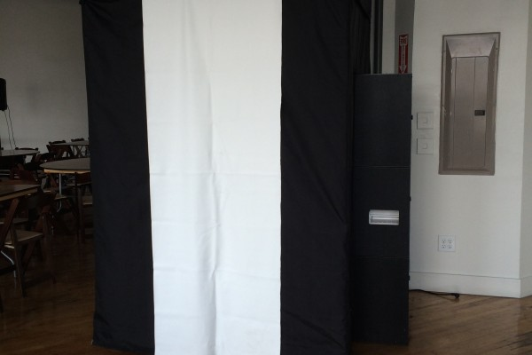 Photo Booth with White door